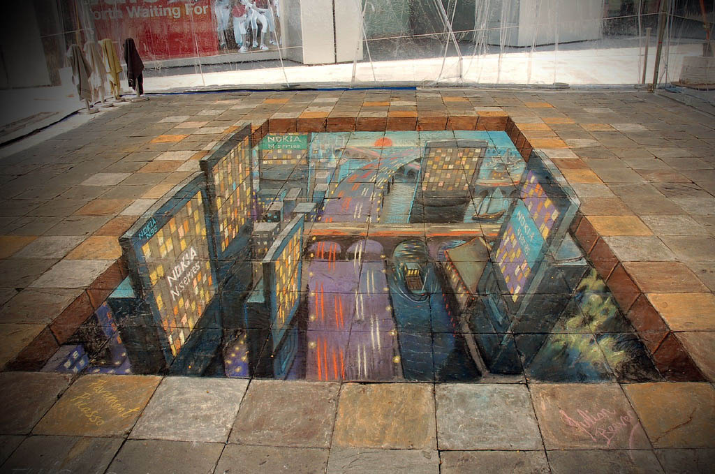 street art3 Amazing 3D Street Art Paintings