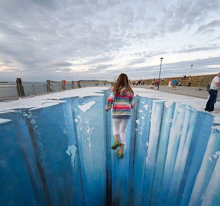 street art6 Amazing 3D Street Art Paintings