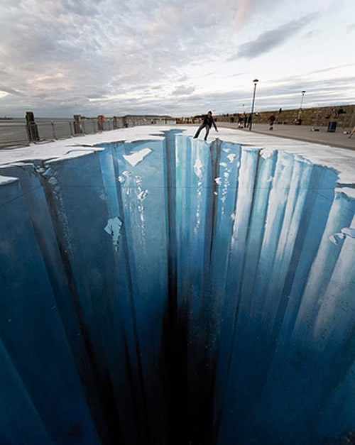 street art9 Amazing 3D Street Art Paintings
