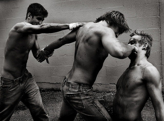 fight club7 Art Photography Inspired by Brad Pitt Movie