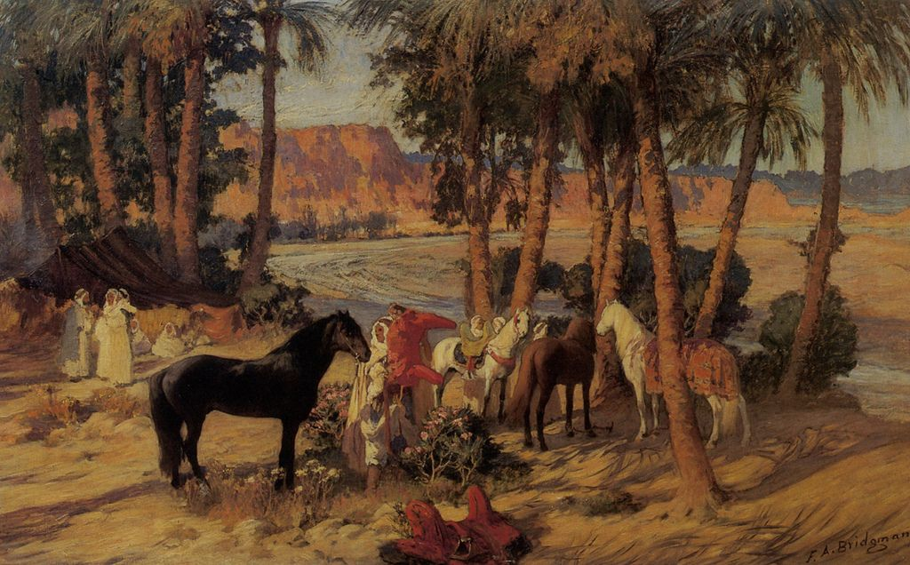 bridgman10 Artwork by Frederick Arthur Bridgman