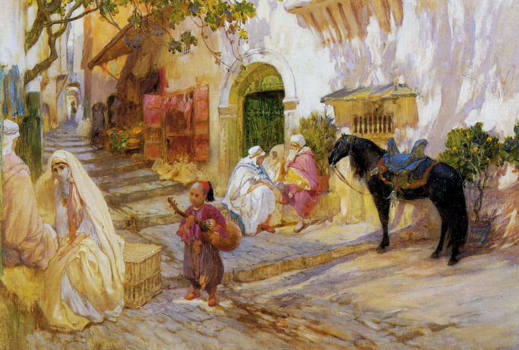 bridgman14 Artwork by Frederick Arthur Bridgman
