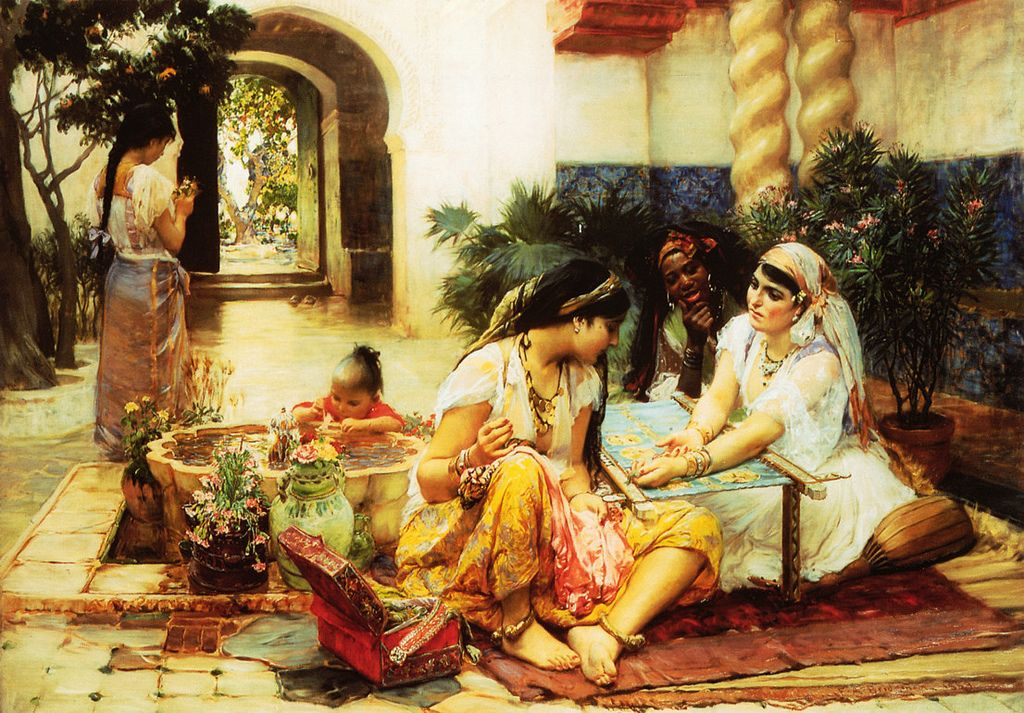 bridgman4 Artwork by Frederick Arthur Bridgman