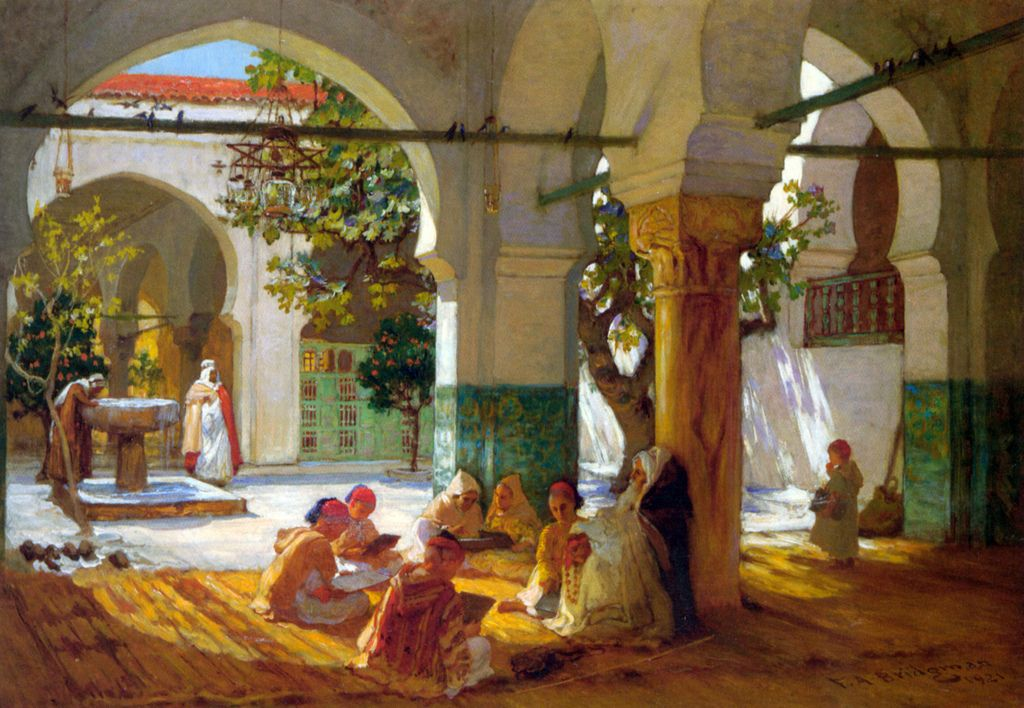 bridgman5 Artwork by Frederick Arthur Bridgman