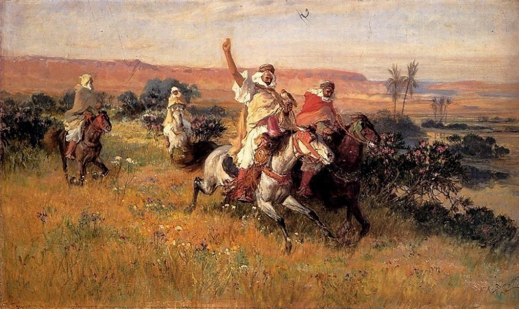bridgman6 Artwork by Frederick Arthur Bridgman