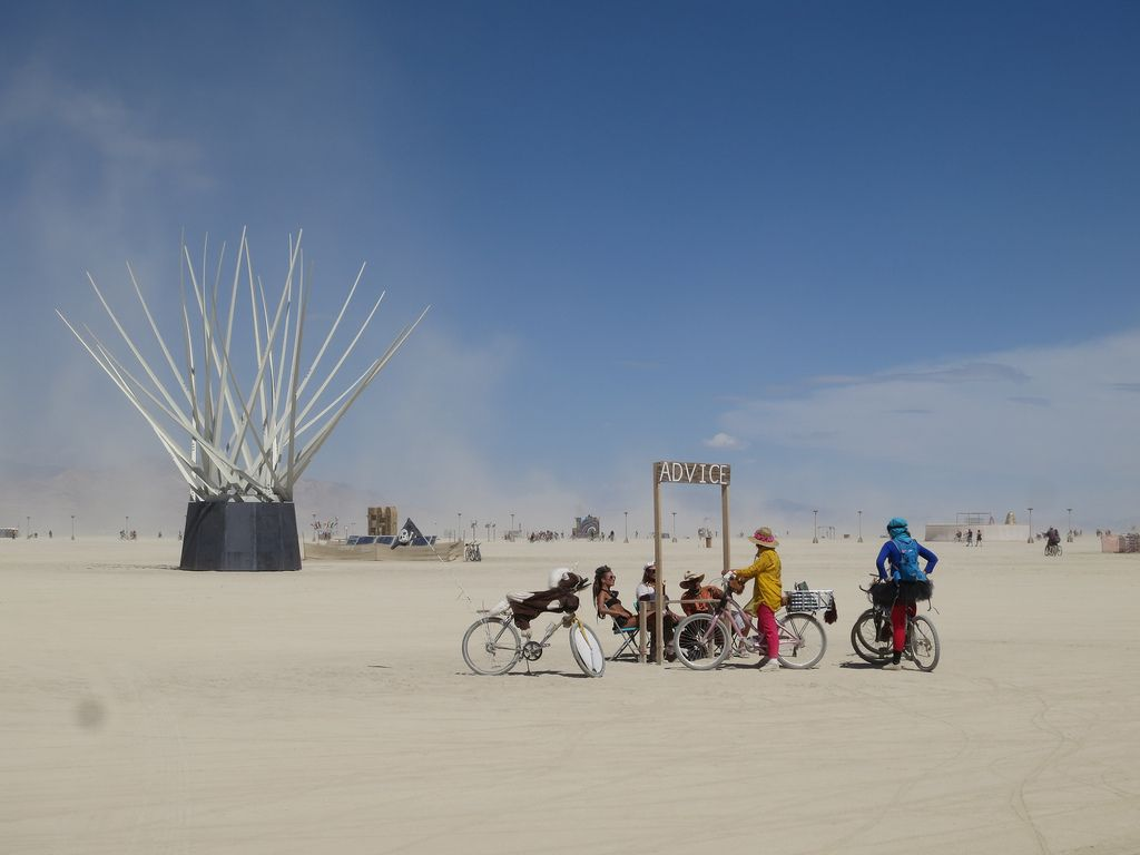 burning man14 Burning Man Festival in Nevada Desert