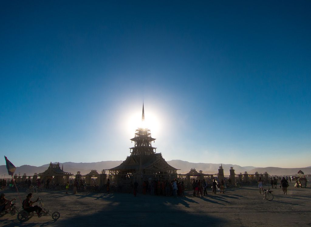 burning man18 Burning Man Festival in Nevada Desert