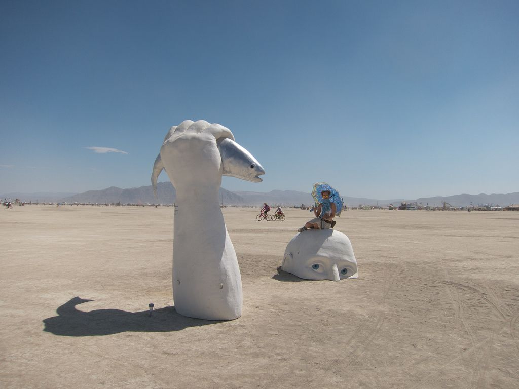 burning man2 Burning Man Festival in Nevada Desert