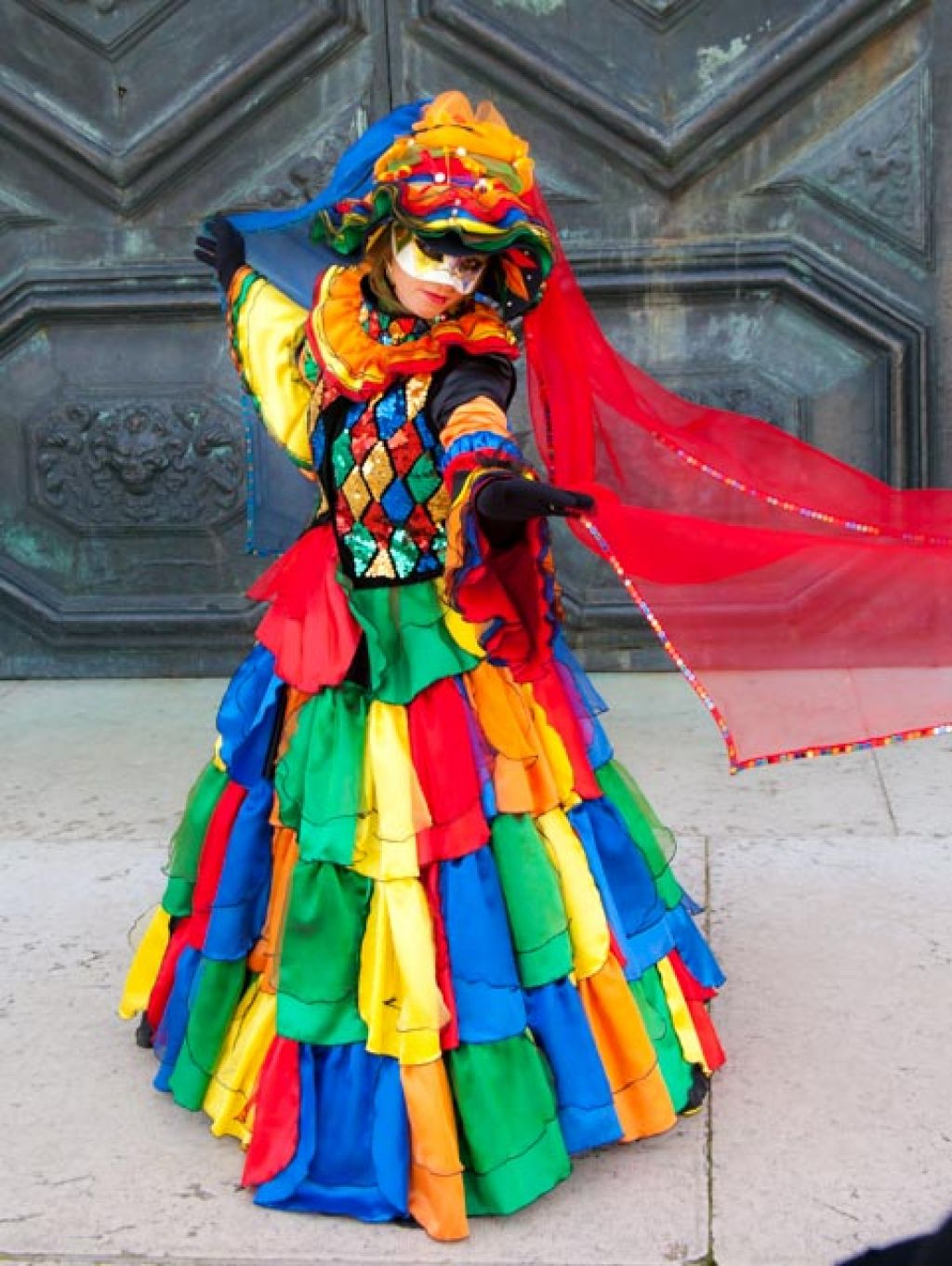 venice carnival10 Carnival Costumes at Santa Maria della Salute