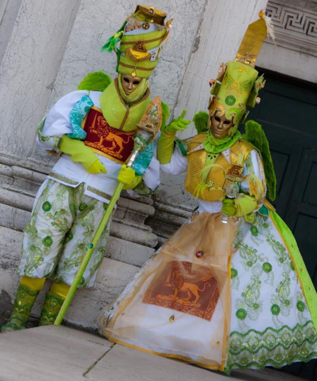 venice carnival11 Carnival Costumes at Santa Maria della Salute