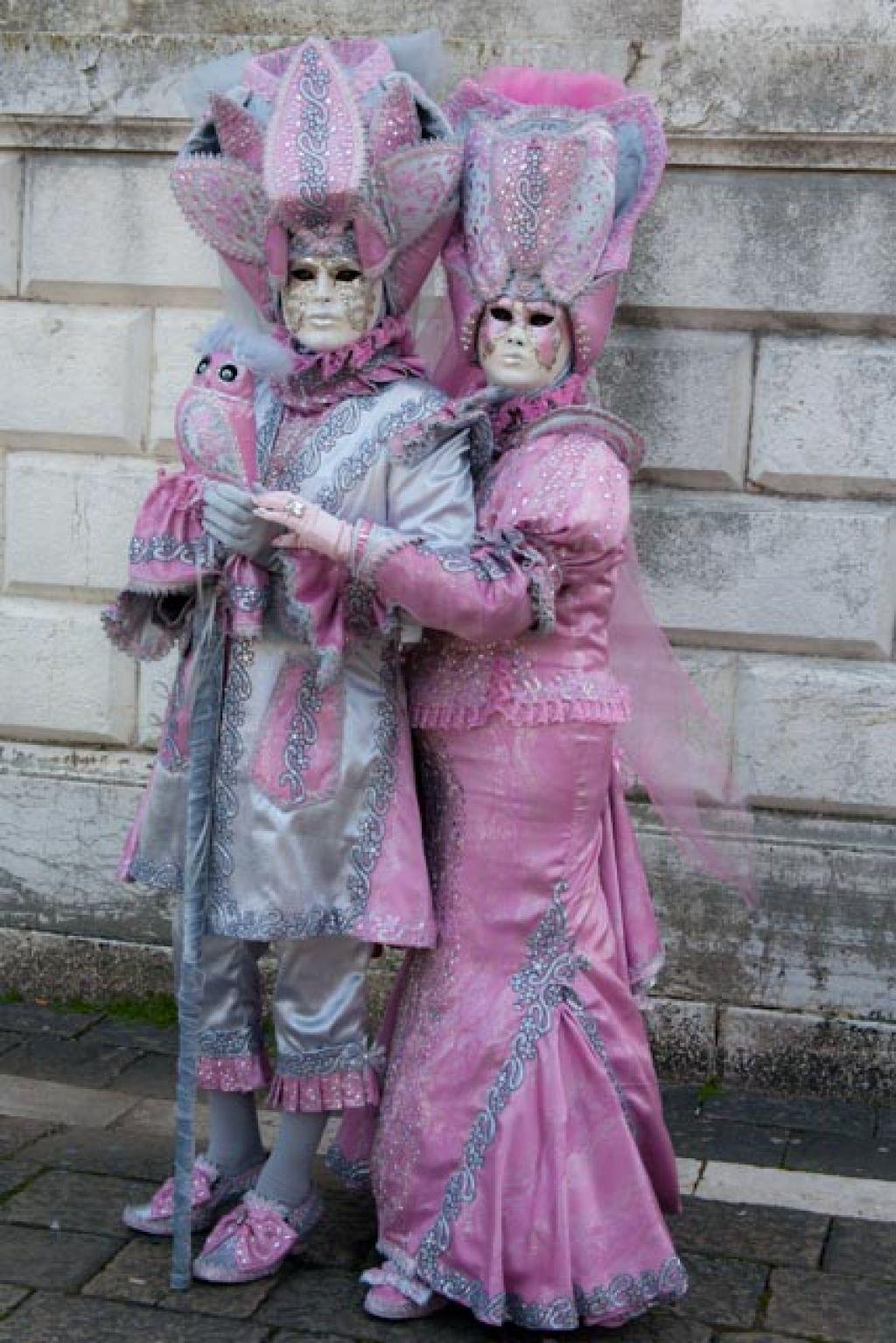 venice carnival7 Carnival Costumes at Santa Maria della Salute