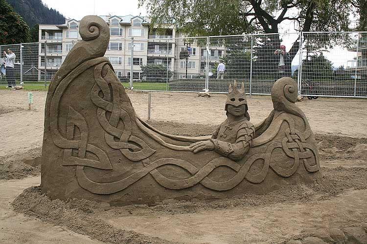 sand art1 Creative Sand Art