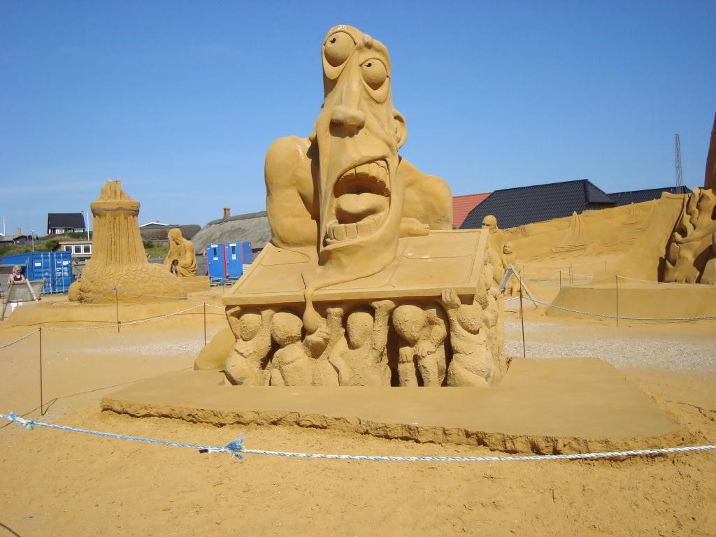 sand art11 Creative Sand Art