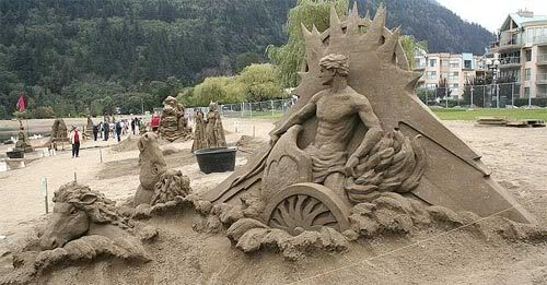 sand art13 Creative Sand Art