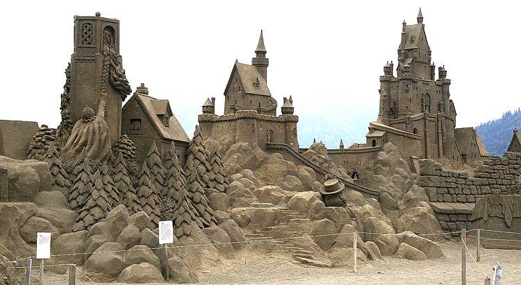 sand art17 Creative Sand Art