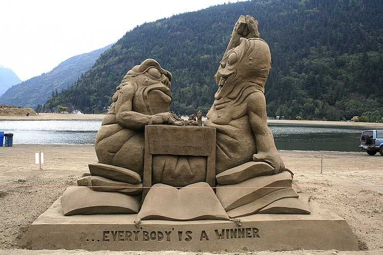 sand art7 Creative Sand Art