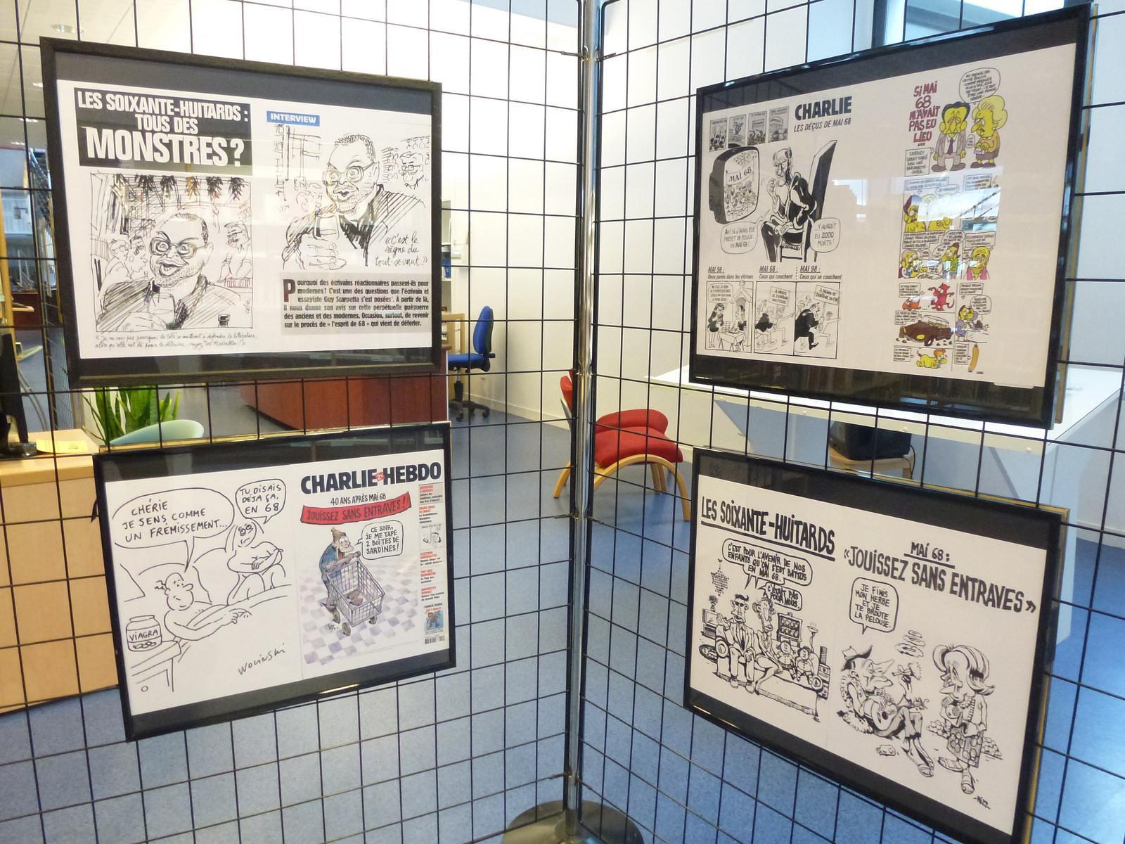 charlie hebdo exhibit11 Exhibition Charlie Hebdo at Quimperle