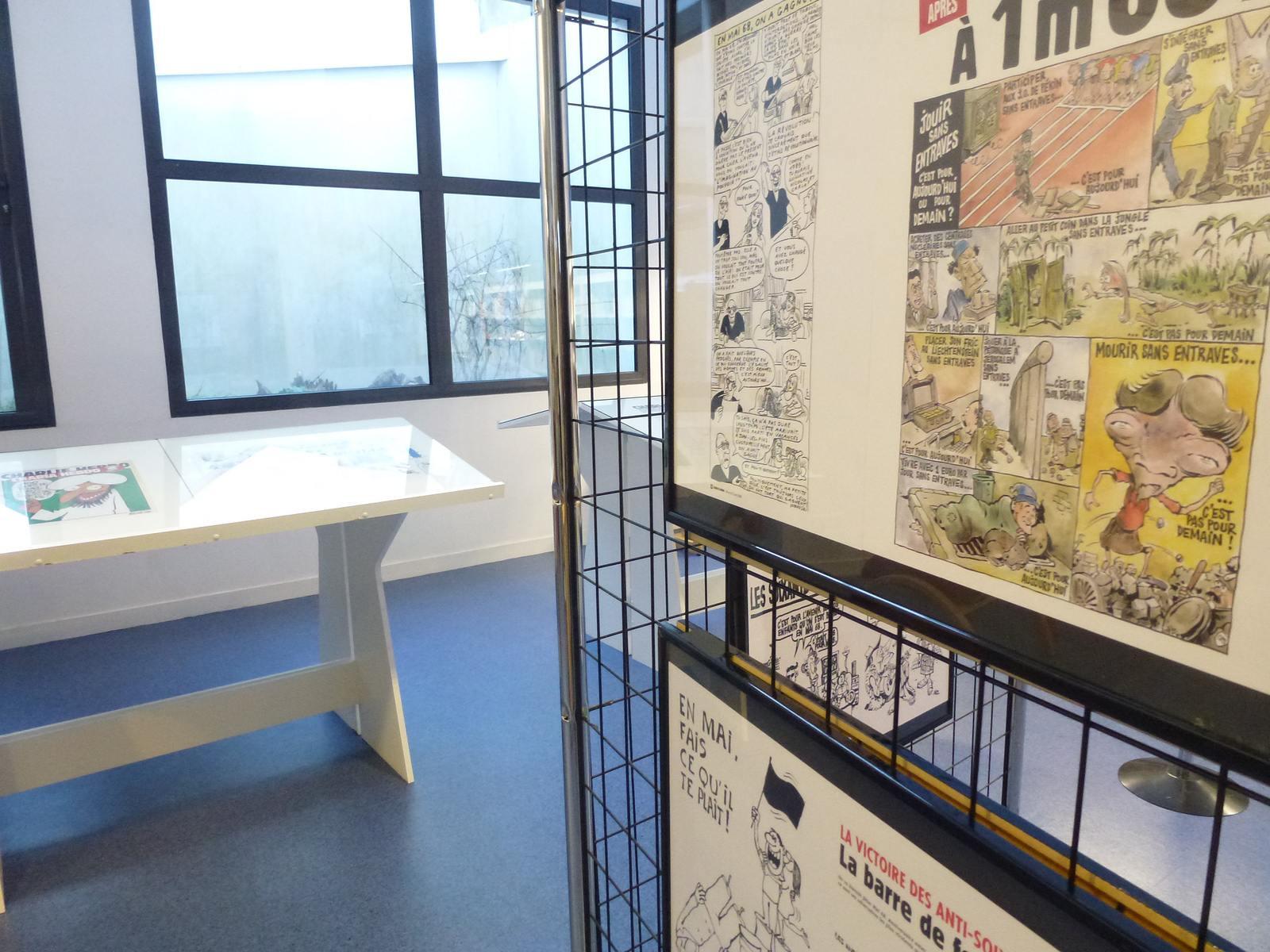 charlie hebdo exhibit12 Exhibition Charlie Hebdo at Quimperle