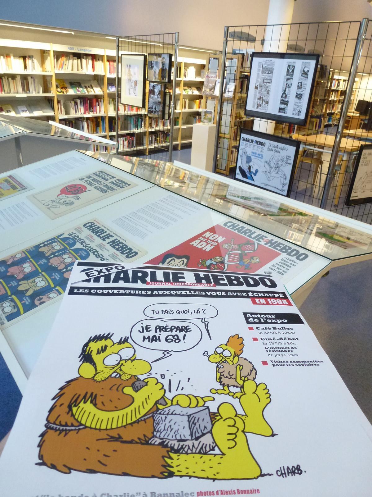 charlie hebdo exhibit15 Exhibition Charlie Hebdo at Quimperle