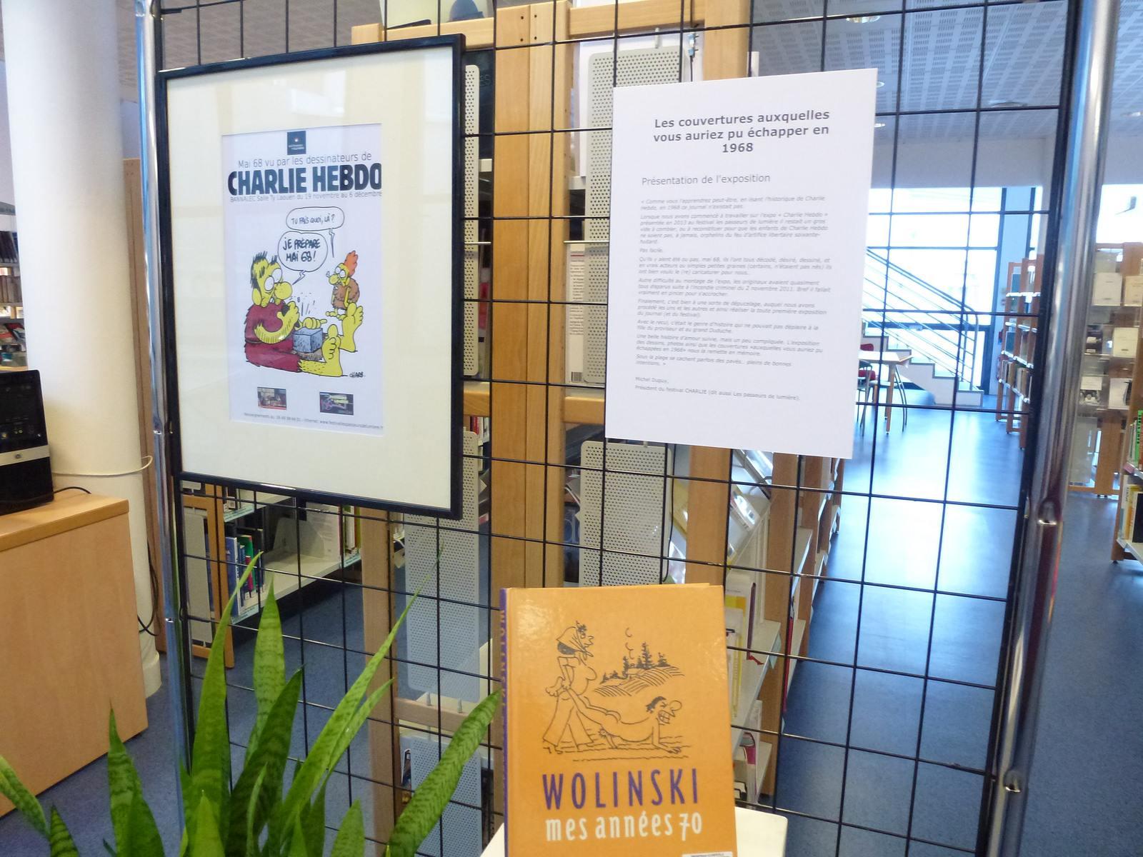charlie hebdo exhibit5 Exhibition Charlie Hebdo at Quimperle
