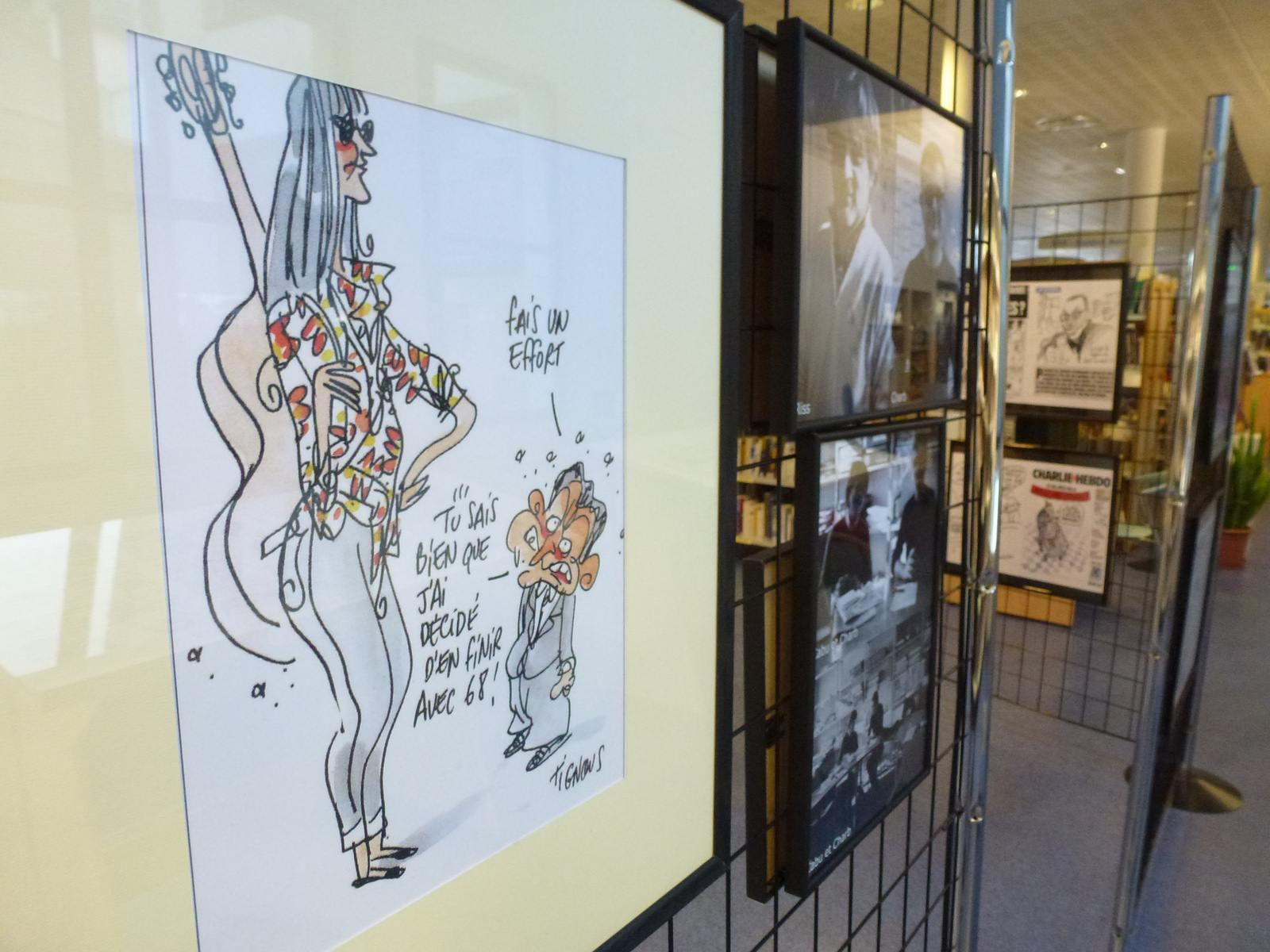 charlie hebdo exhibit9 Exhibition Charlie Hebdo at Quimperle