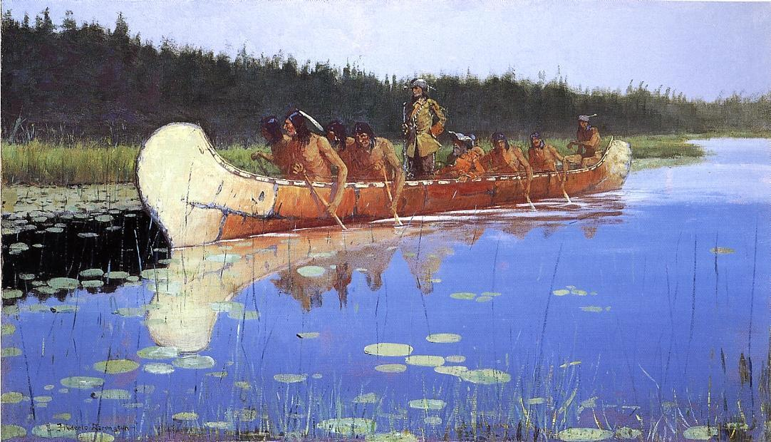 frederic remington12 Frederic Remington Paintings in Virtual Art Gallery ErgsArt