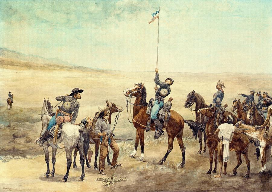 frederic remington15 Frederic Remington Paintings in Virtual Art Gallery ErgsArt