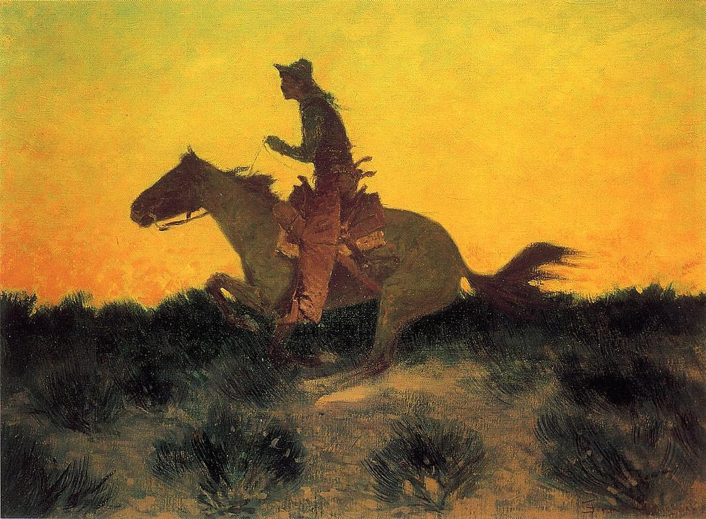 frederic remington2 Frederic Remington Paintings in Virtual Art Gallery ErgsArt