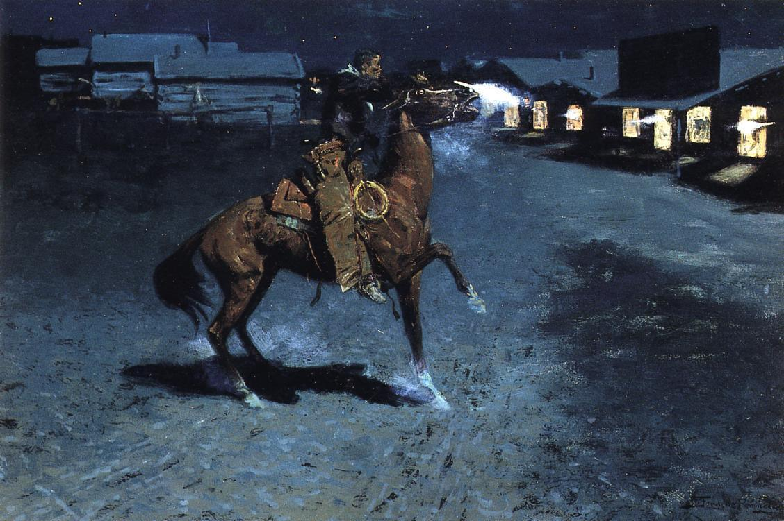 frederic remington3 Frederic Remington Paintings in Virtual Art Gallery ErgsArt