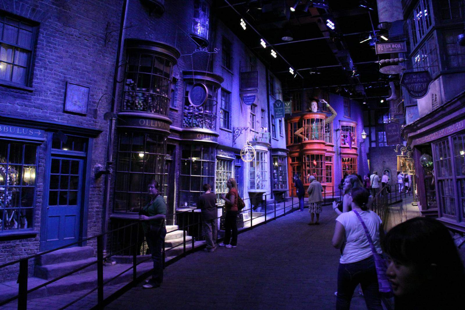 making harry potter The Making of Harry Potter, Warner Bros Studio London