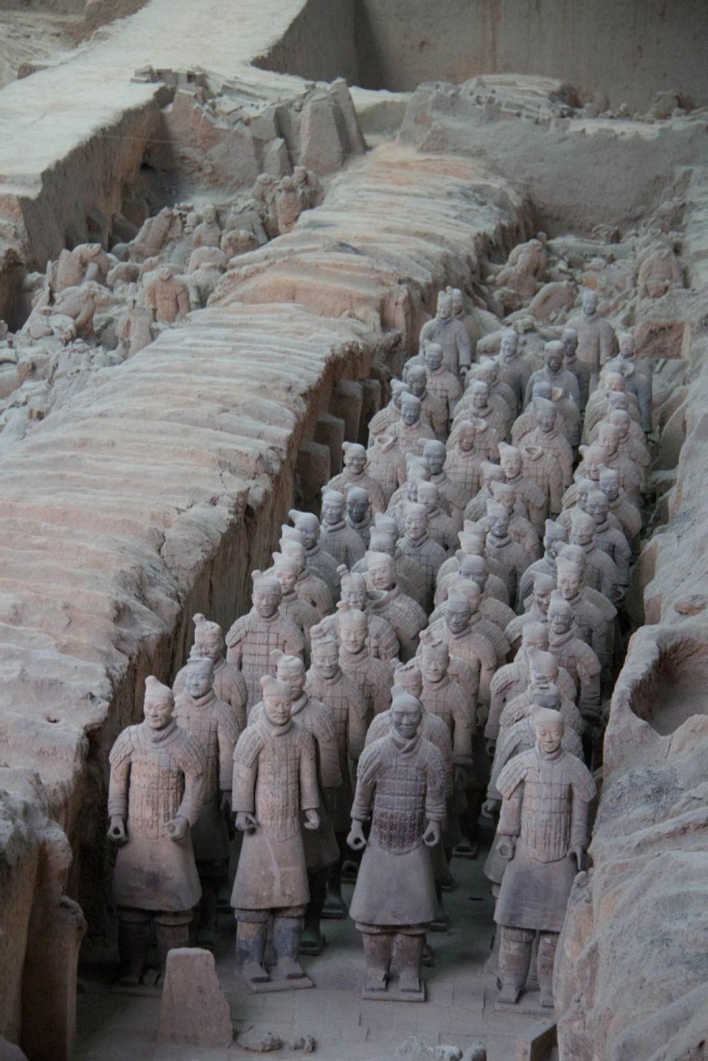 terra cotta warriors1 Museum of Qin Terracotta Warriors