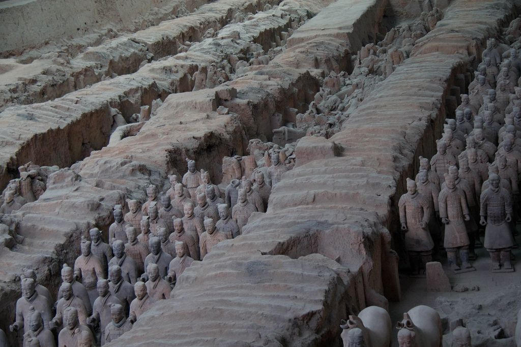terra cotta warriors2 Museum of Qin Terracotta Warriors
