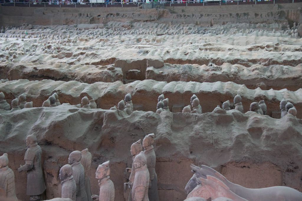 terra cotta warriors3 Museum of Qin Terracotta Warriors