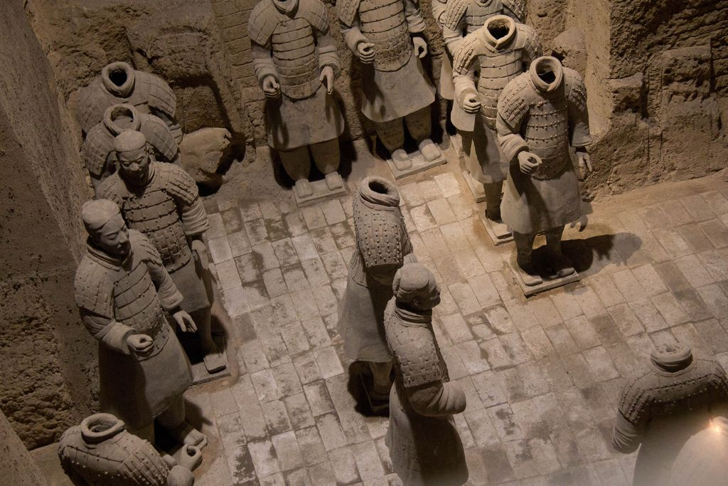 terra cotta warriors7 Museum of Qin Terracotta Warriors