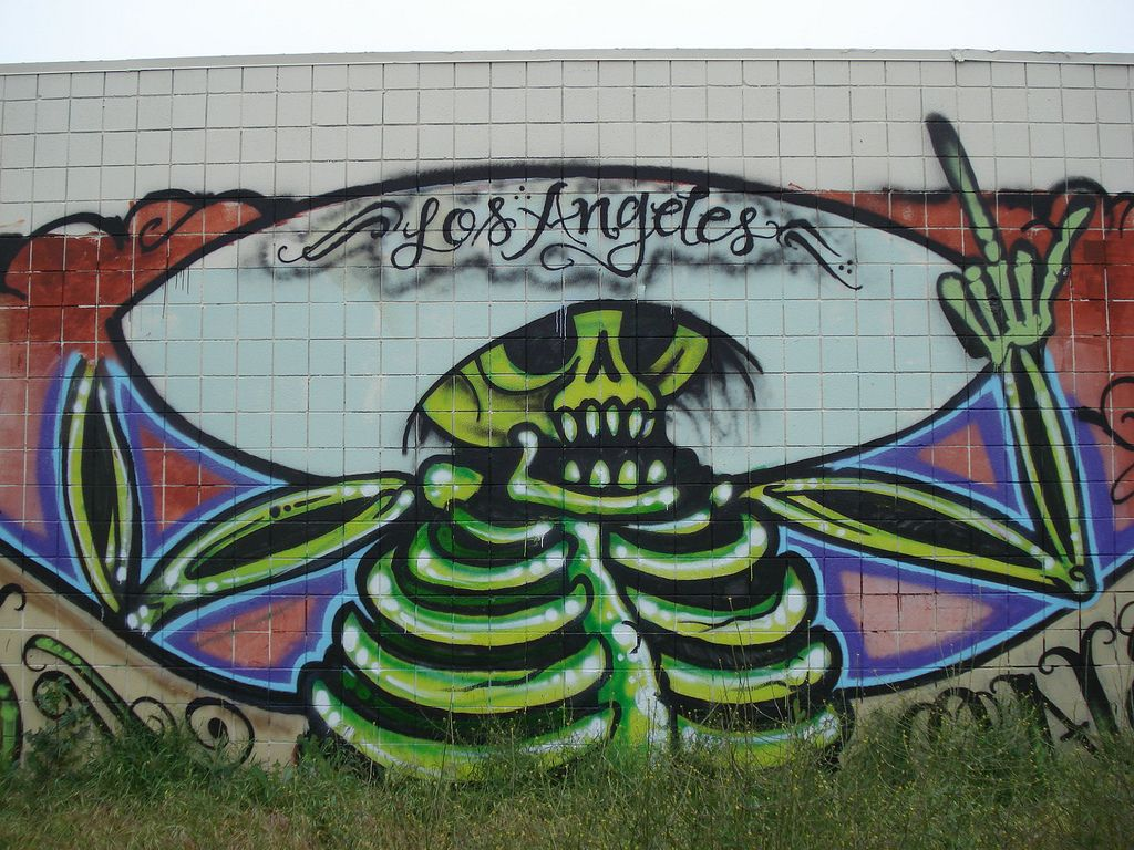 graffiti art3 Street Art and Graffiti in Los Angeles