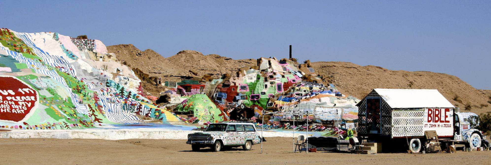 salvation mountain1 Truly Unique Salvation Mountain in California