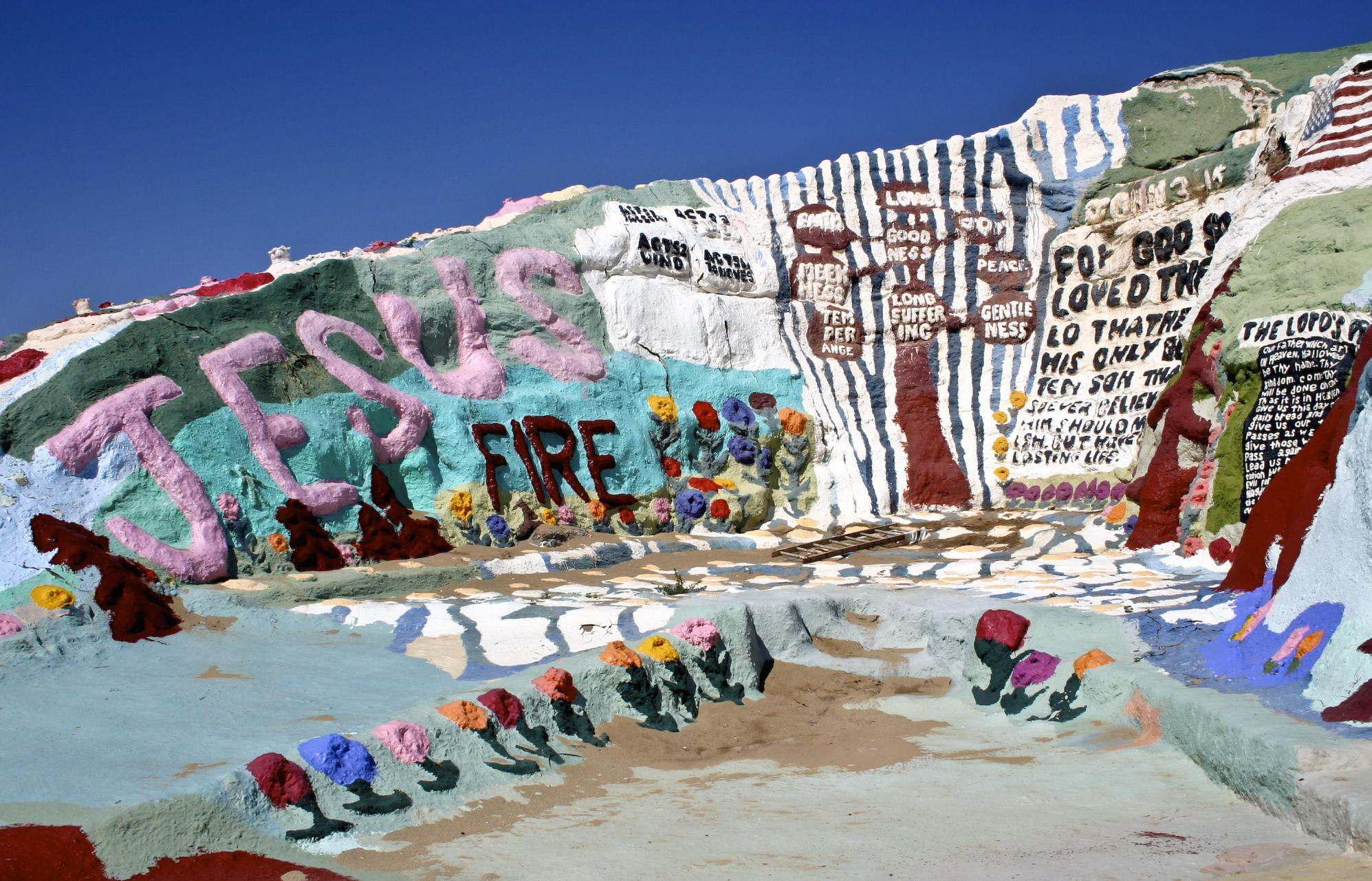 salvation mountain2 Truly Unique Salvation Mountain in California