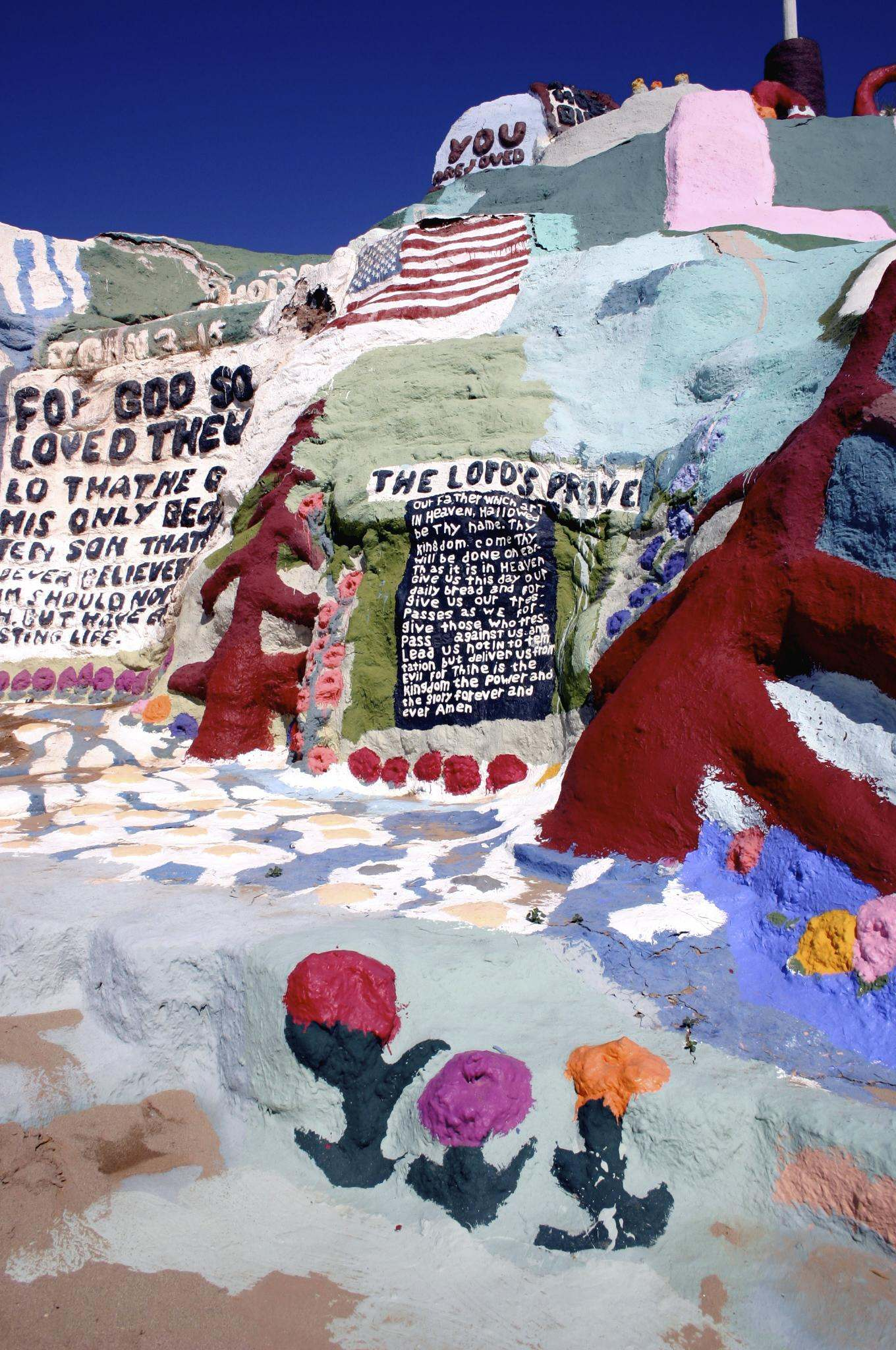 salvation mountain4 Truly Unique Salvation Mountain in California