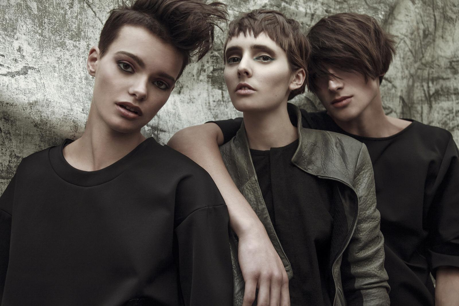 hair styling10 UNISEX Collection 2015 by mad ACADEMY