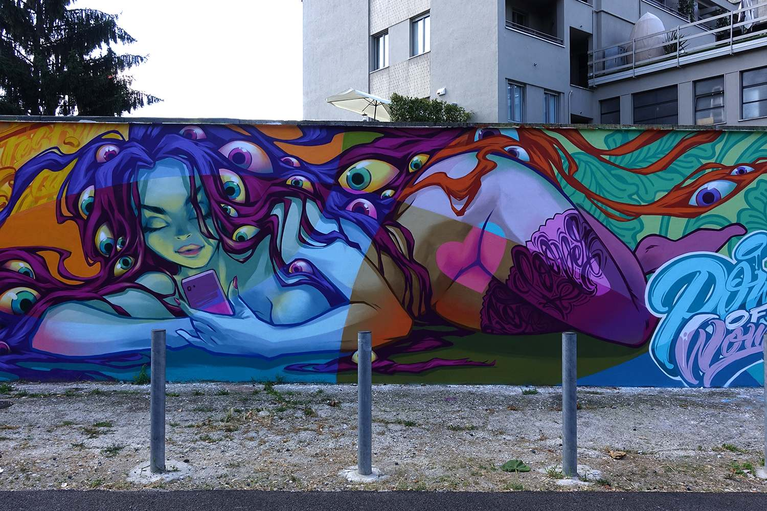 graffiti2 Zuartday 2018 at Vicolo del Fontanile
