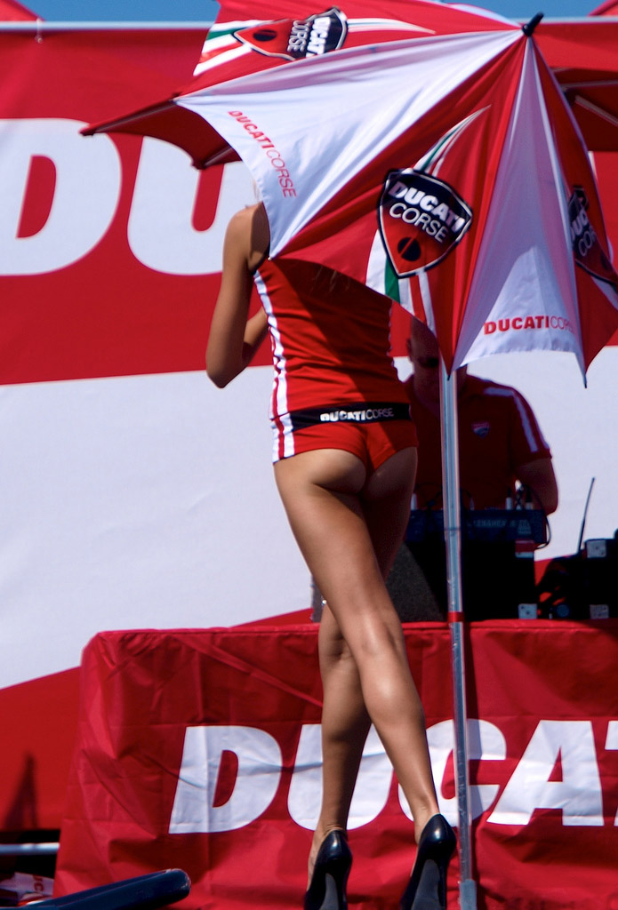 ducati monster12 Ducati Monsters vs Hot Bikini Models