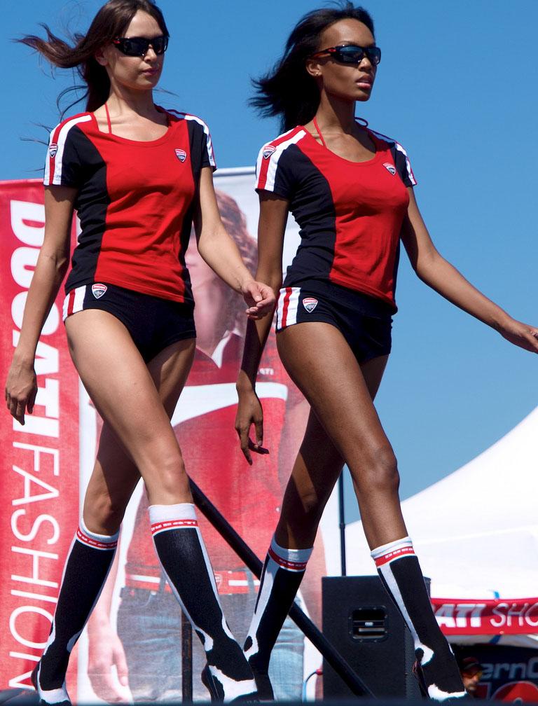ducati monster13 Ducati Monsters vs Hot Bikini Models