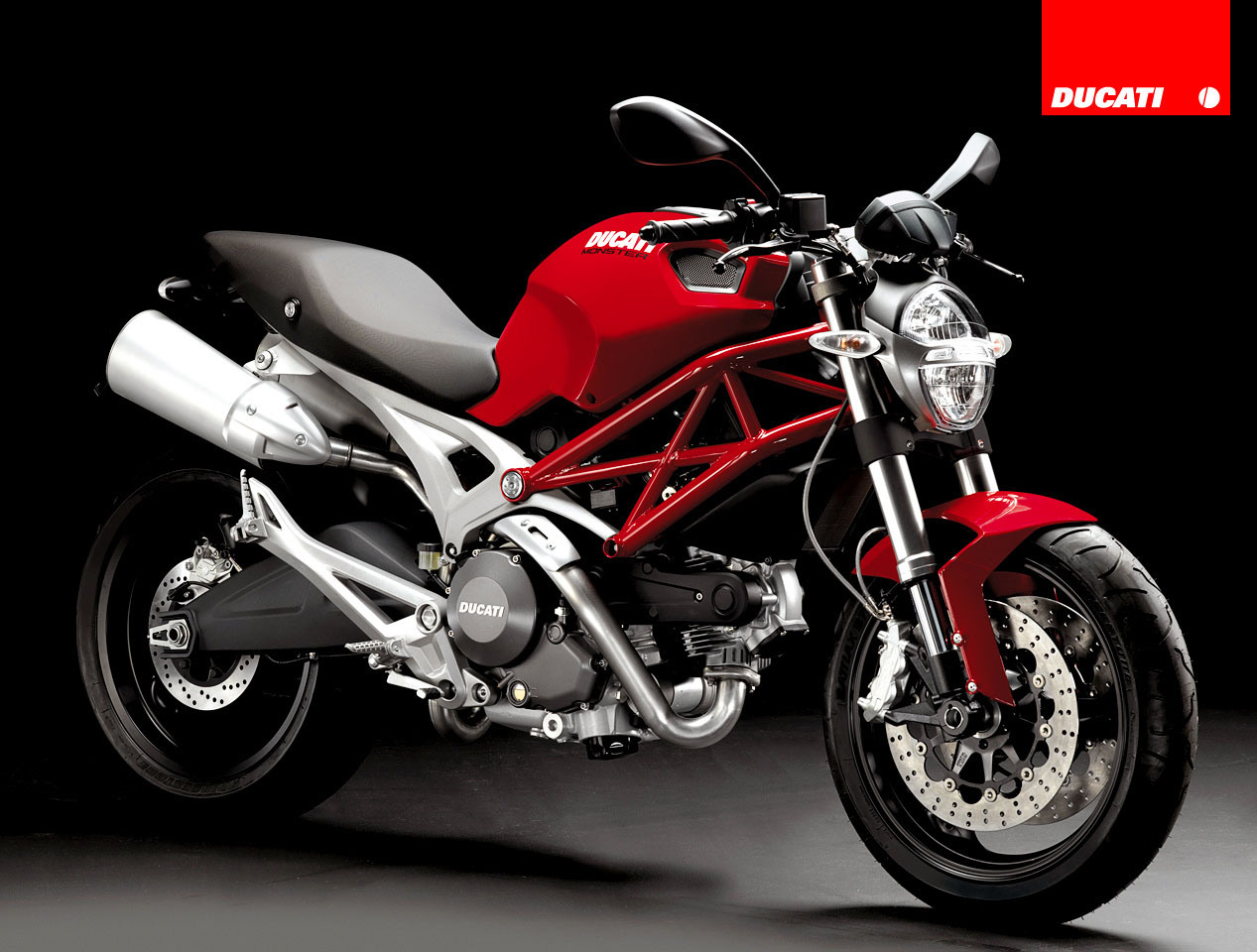 ducati monster3 Ducati Monsters vs Hot Bikini Models