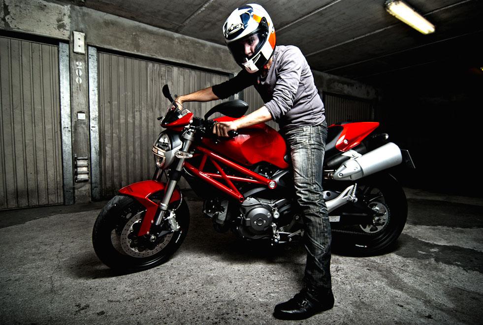 ducati monster6 Ducati Monsters vs Hot Bikini Models