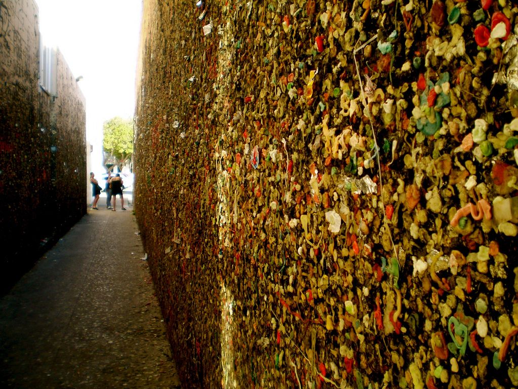 bubblegum alley Bubblegum Alley in San Luis Obispo