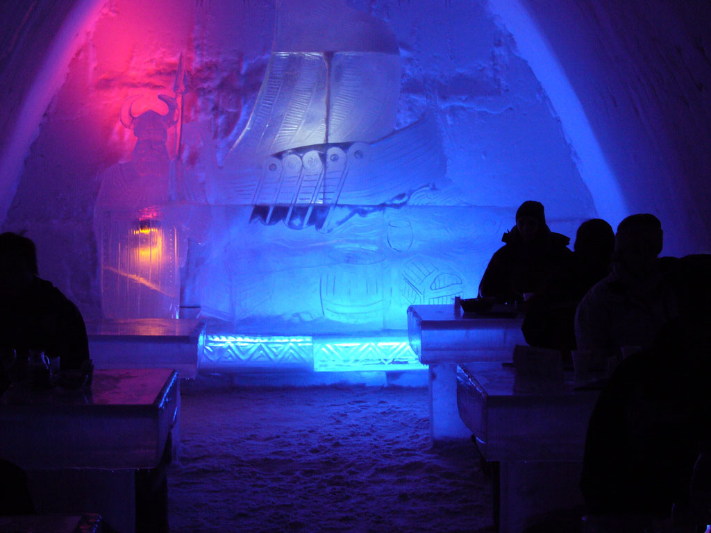 hotel kemi1 Finnish Snow Castle with Ice Bar