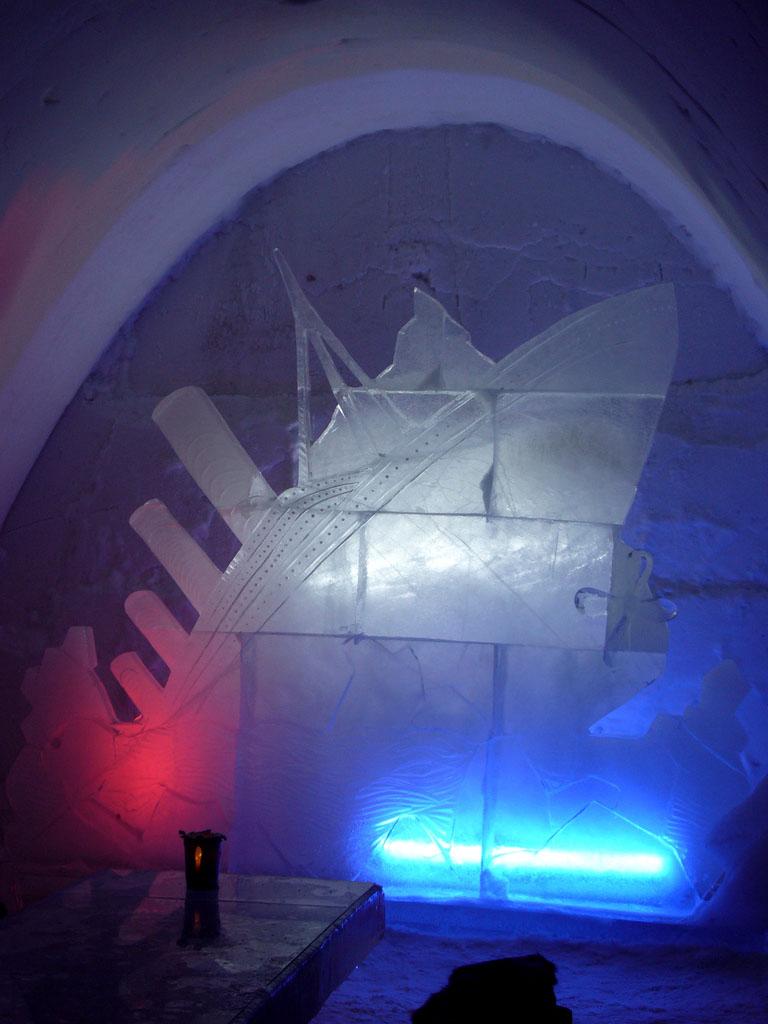 hotel kemi2 Finnish Snow Castle with Ice Bar