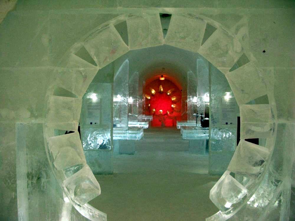 hotel kemi6 Finnish Snow Castle with Ice Bar