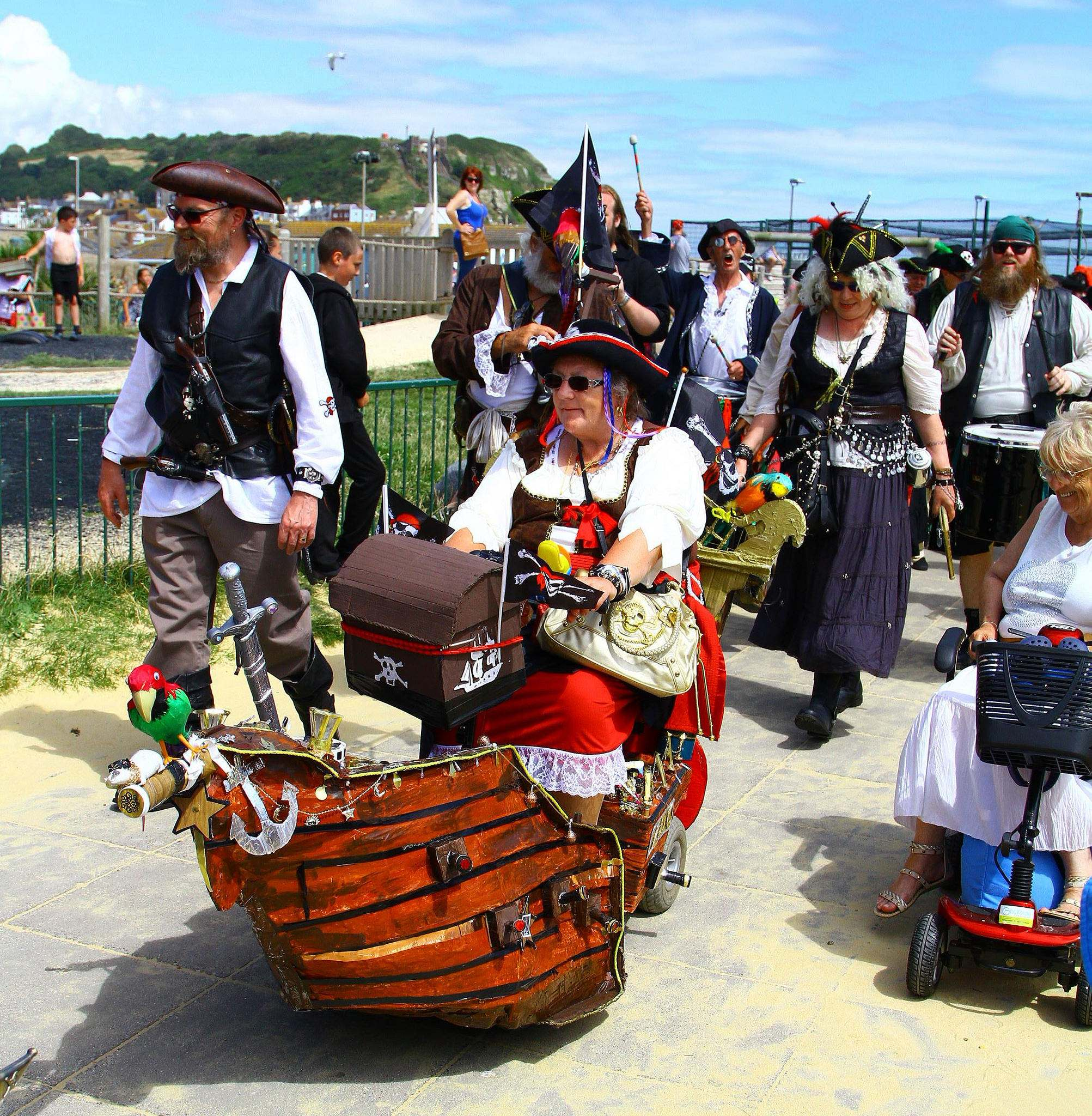 pirate 201614 Hastings Pirate Day 2016