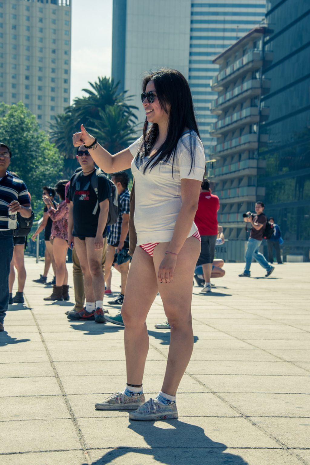 no pants12 No Pants Day in Mexico City